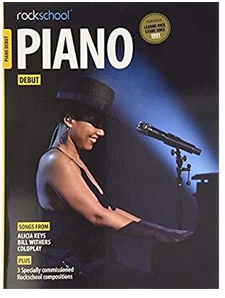 """Método de Piano para debutantes """"ROCKSCHOOL"""""""