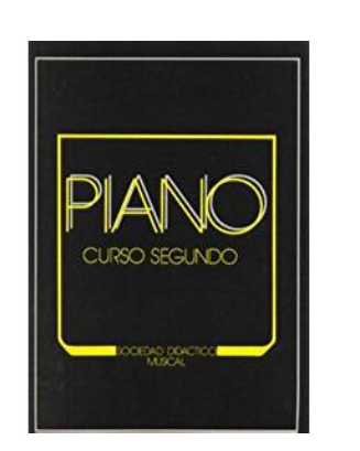 """Curso  Segundo de Piano """"SOCIEDAD DIDÁCTICO MU"""