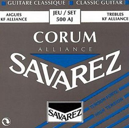"""Cuerdas para Guitarra Clásica  """"SAVAREZ"""" 500-AJ"""