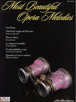 ALBUM PARA PIANO - MOST BEAUTIFUL OPERA MELODIES