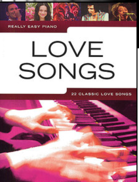 "Partituras para Piano ""LOVE SONGS REALLY EASY PIANO"""