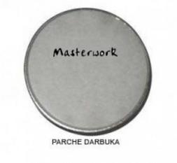 Parches Darbukas 17,5 cms