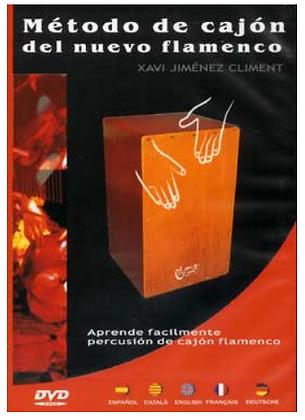 """Método de cajón del nuevo flamenco """"XAVI JIMÉNEZ CLIMENT"""""""