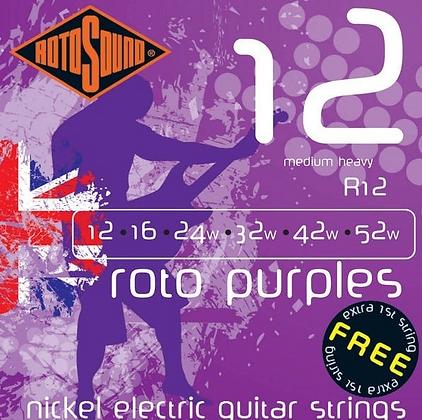 "Cuerdas para Guitarra Eléctrica ""ROTOSOUND"" RH12"