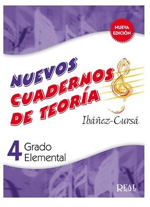 """Nuevos cuadernos de teoría, grado elemental 4º """"IBÁÑEZ CURSÁ"""""""