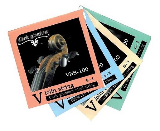 """Cuerdas para violin """"CARLO GIORDANO"""""""