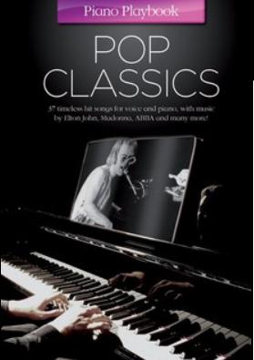 """Partituras para Piano """"POP CLASSCIS PIANO PLAYBOOK"""""""