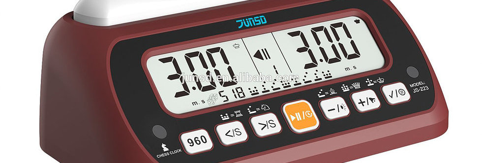 JUNSD -JS223 MULTIFUNCTIONAL CHESS CLOCK