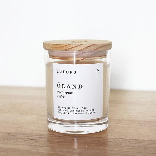ÖLAND · eucalyptus + cèdre
