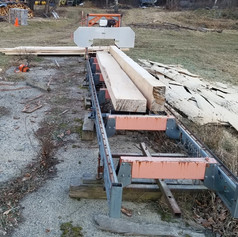 This project will be undertaken with the help of students from the Tech Center Carpentry Program with materials milled from trees removed from Muckross.