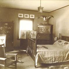 Interior of original house