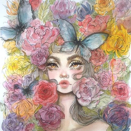 Cama de Flores - Print M