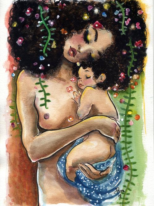 Mamãe e eu II - Print A4