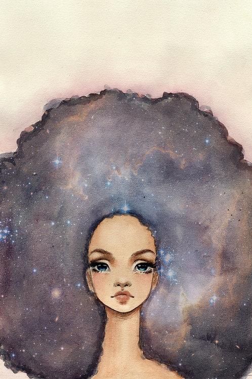 Nebula - Print A4