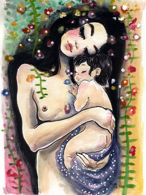 Mamãe e eu III - Print A4