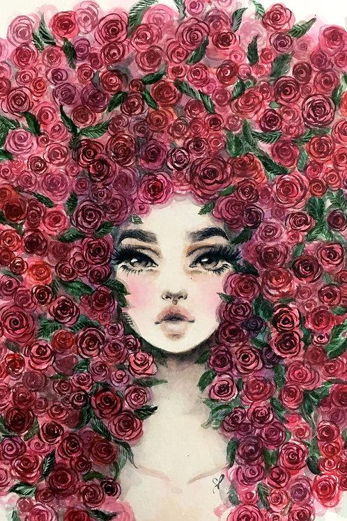 Rosas - Print A4