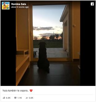 Romina Sala's devastating FaceBook post.