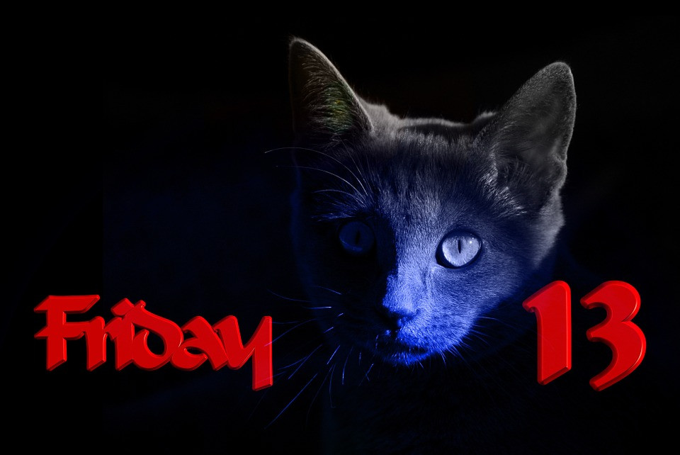 Friday the 13th and black cat superstition