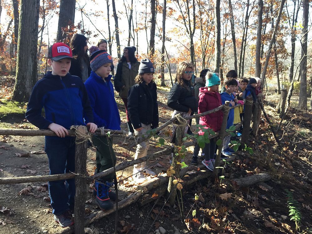 The VIIIs Visit the Lenape Village in New Jersey