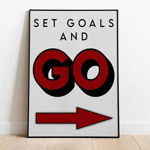 Set Goals and Go