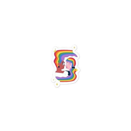 Pride Warp Sticker