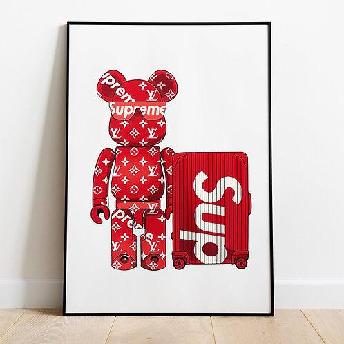 Supreme Red Bear