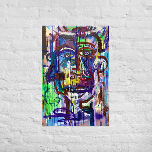Crying Man (24x36in)