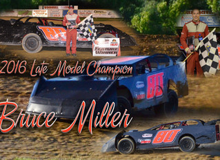 Woodhull Raceway 2016 SWL Awards 360 Late Models Yearbook