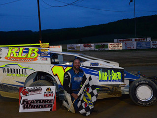 Lawson Turns Season Around With Woodhull Modified Victory