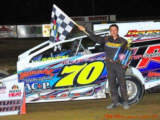 Brady Fultz Takes Troyer To Woodhull Raceway Victory Lane