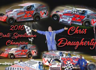 Woodhull Raceway 2016 NAPA Crate Sportsman Yearbook
