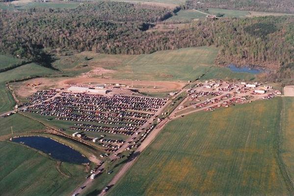 Woodhull Raceway aerial view