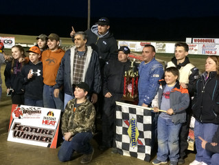 Daugherty Powers To $1,000 Victory At Woodhull Raceway
