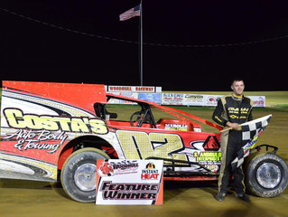 Cory Costa Takes CO2 Motorsports To Victory Lane At Woodhull