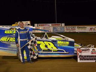 Hilfiger Holds On To Win Modified Opener At Woodhull Raceway