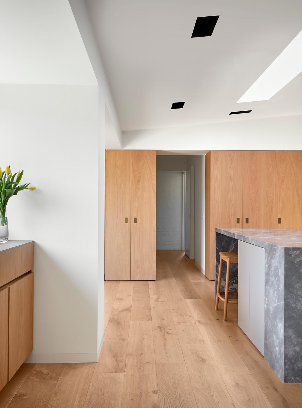 Eco Timber, Urban Oak Flooring, Jane Riddell Architects, Kitchen Renovation
