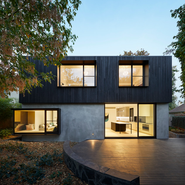 Charred Wood House