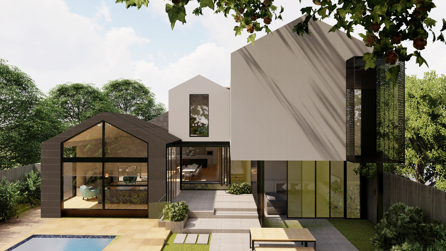 APPLETON RESIDENCE - MATERIALS AND MASSI