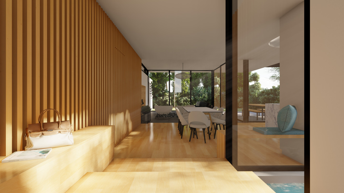 TAN RESIDENCE - TRANSITION FROM OLD TO N
