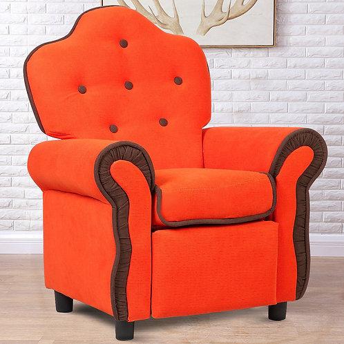 Children Recliner Sofa Chair - Orange