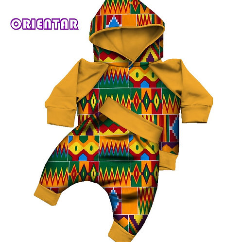 African Baby Set - 2 pieces (Top & Pants)