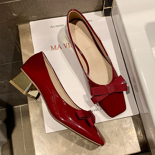 Sexy Low Heel Slip on Loafers