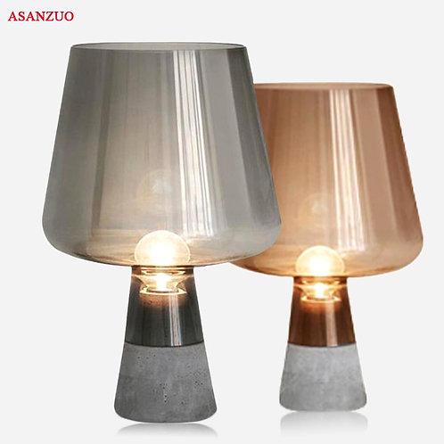 Nordic Desk Lamp Creative Cement Led Table Lamp