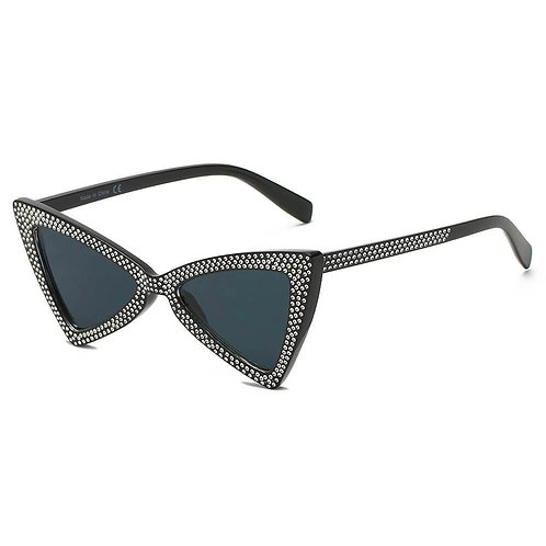 Women Retro Vintage Extreme Cat Eye Sunglasses