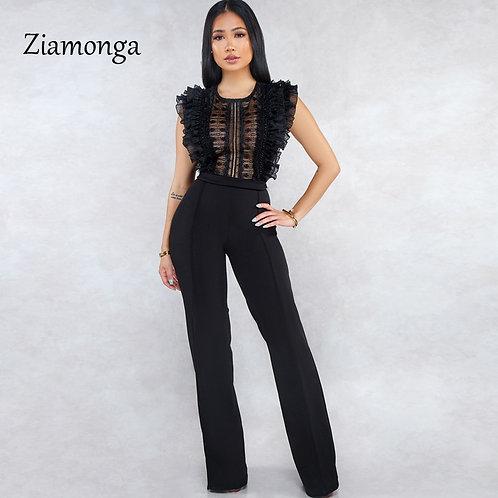 Ziamonga V-Neck Jumpsuit