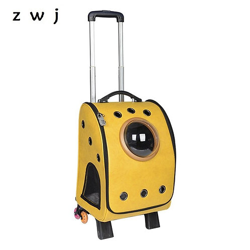 Rolling Luggage for Pets