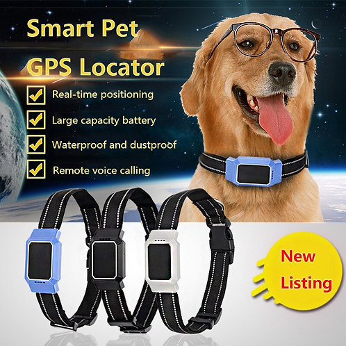 Real Time Pet GPS  Collar Tracker