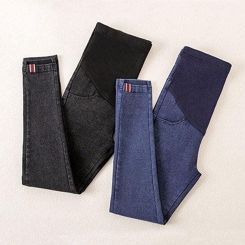 Denim Jeans Maternity Pants