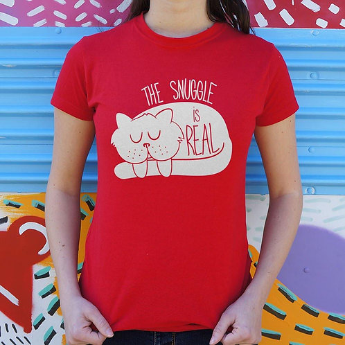 The Snuggle Is Real T-Shirt (Ladies)