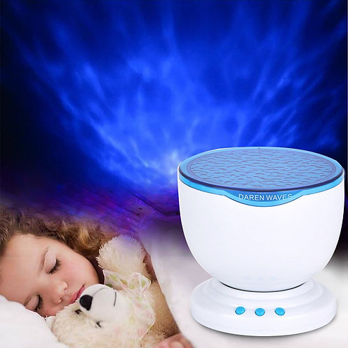 Calming Autism Sensory LED Light Projector  with Music